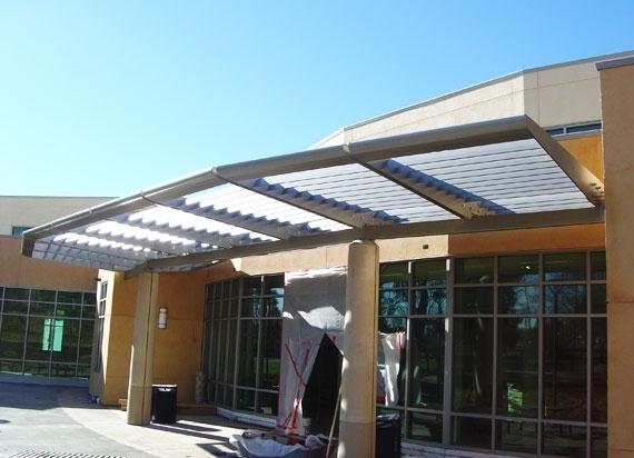 Folsom Library – B & C Awnings Inc.